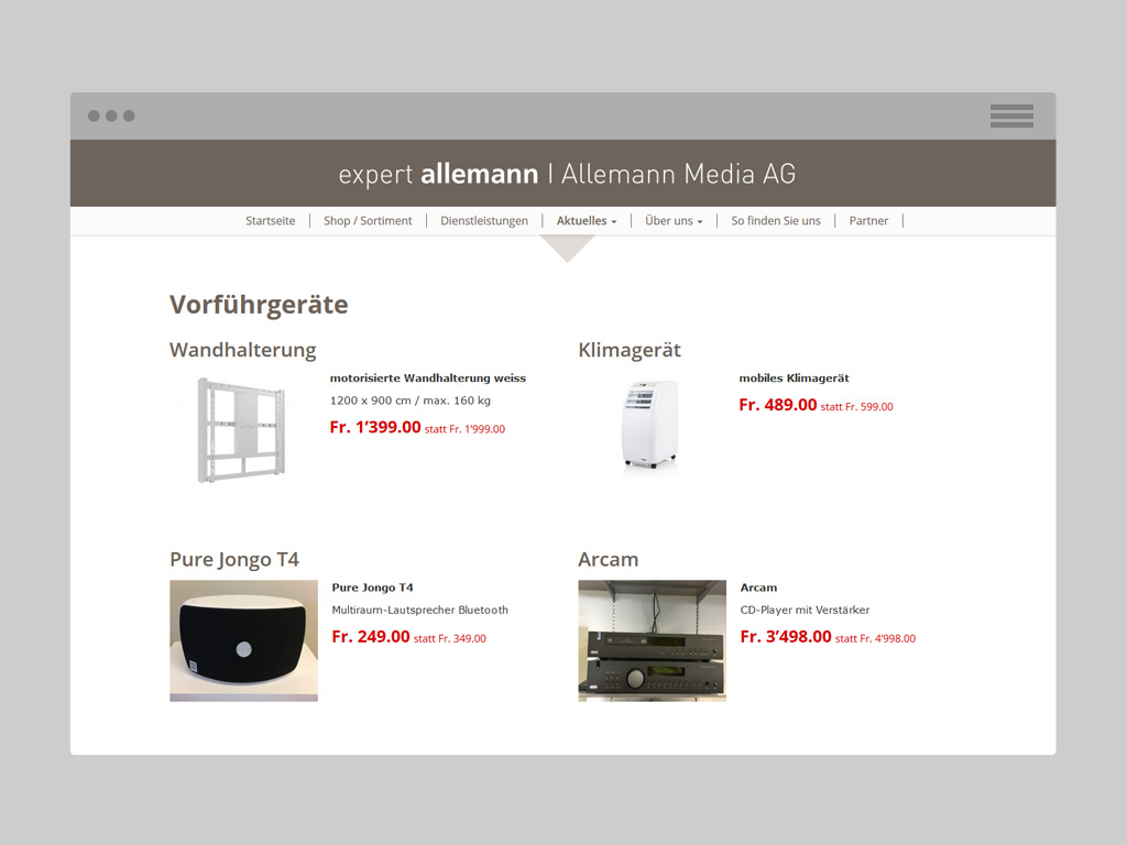 Büetiger AG References - Allemann Media AG